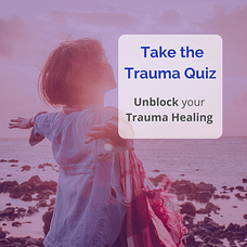 woman happy trauma freedom on rocky shore