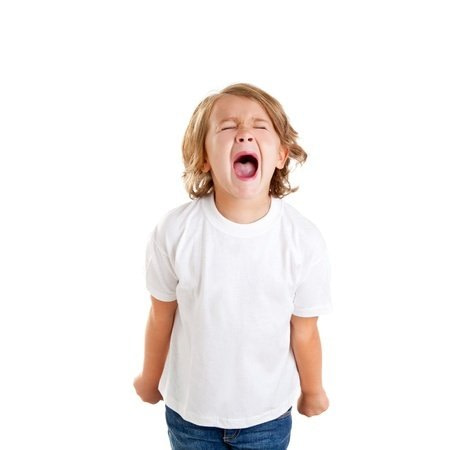 Child with Passion and Healthy Anger